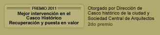 certificado de excelencia de Trip Advisor para el Hotel Patios de San Telmo en Buenos Aires